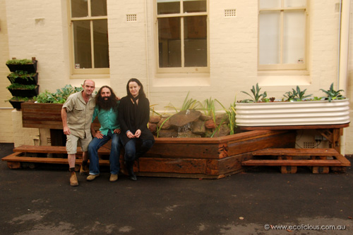 ABC Gardening Australia at ISMS with Costa and Justine